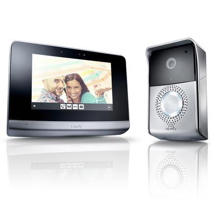 Visiophone : Somfy, installation et liaison domotique visiophone