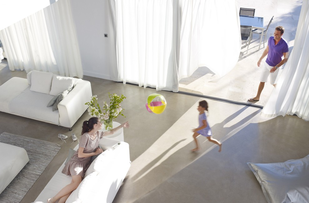 rideau électrique somfy installation domotique et motorisation