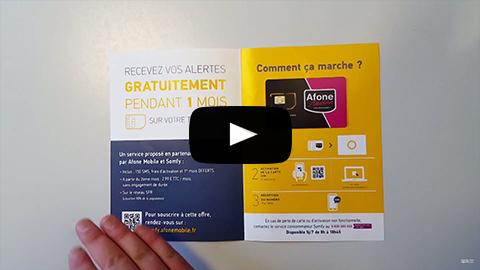 Activer la carte SIM Afone-Somfy pour une centrale d'alarme PROTEXIOM
