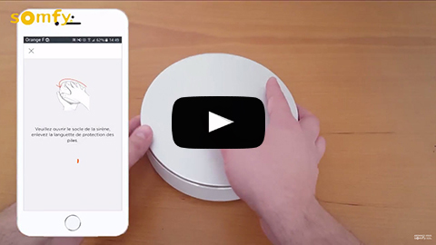 Installation de la Somfy Home Alarm avec Apple