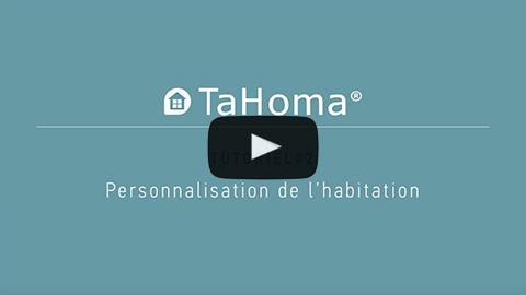 Personnalisation de l'interface de TaHoma