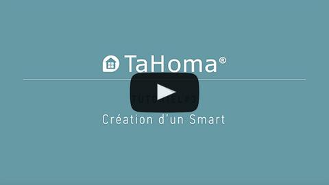 Création d'une programmation avec TaHoma