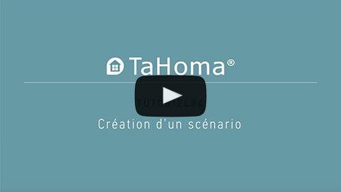 Création d'un scénario avec TaHoma