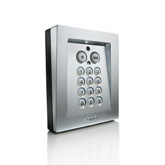 clavier code rts aluminium commande murale radio. Black Bedroom Furniture Sets. Home Design Ideas