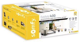 Motorisation pour portail battant moteur de portail - Somfy evolvia 400 ...