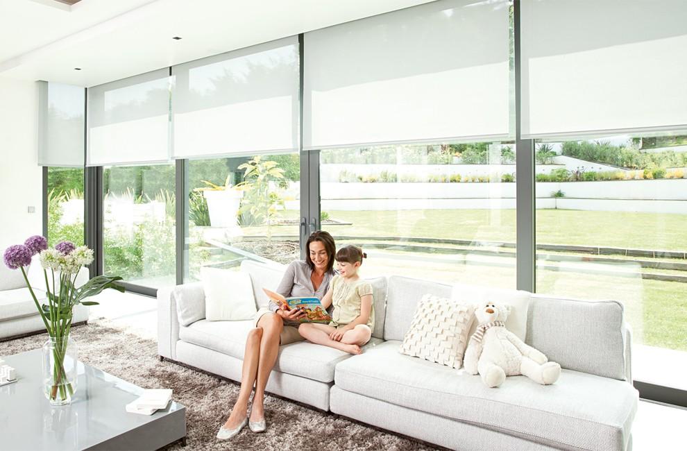 store lectrique int rieur somfy domotique et motorisation de stores lectriques d int rieur. Black Bedroom Furniture Sets. Home Design Ideas