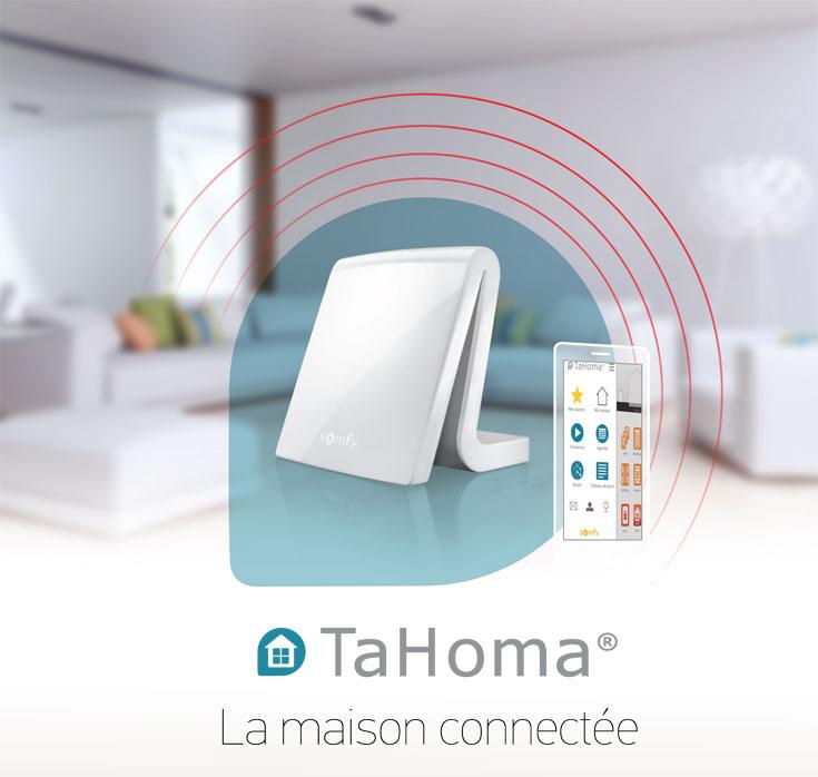 Tahoma la box domotique la boutique somfy for Alarme box garage