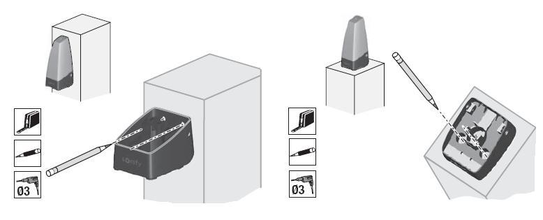 Feu orange pour motorisation portail accessoire la for Meme telecommande pour portail et garage